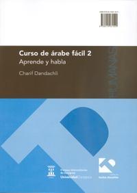Libro CURSO DE ARABE FACIL 2. APRENDE Y HABLA