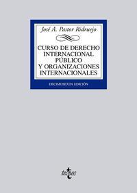 Libro CURSO DE DERECHO INTERNACIONAL PUBLICO Y DE ORGANIZACIONES INTERN ACIONALES
