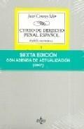 Libro CURSO DE DERECHO PENAL ESPAÑOL: PARTE GENERAL II TEORIA JURIDICA DEL DELITO