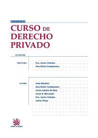Libro CURSO DE DERECHO PRIVADO