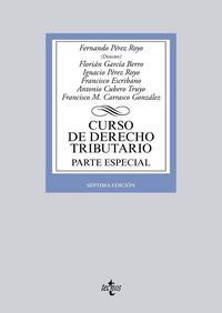 Libro CURSO DE DERECHO TRIBUTARIO. PARTE ESPECIAL