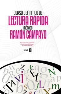 Libro CURSO DEFINITIVO DE LECTURA RAPIDA: METODO DE RAMON CAMPAYO