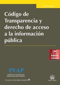 Libro CÓDIGO DE TRANSPARENCIA Y DERECHO DE ACCESO A LA INFORMACIÓN  PUB LICA