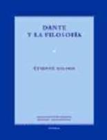 Libro DANTE Y LA FILOSOFIA