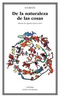 Libro DE LA NATURALEZA DE LAS COSAS