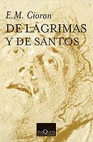 Libro DE LAGRIMAS Y DE SANTOS