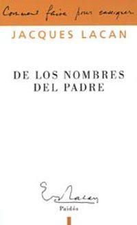 Libro DE LOS NOMBRES DEL PADRE