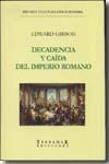 Libro DECADENCIA Y CAIDA DEL IMPERIO ROMANO