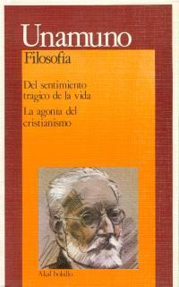 Libro DEL SENTIMIENTO TRAGICO DE LA VIDA. LA AGONIA DEL CRISTIANISMO
