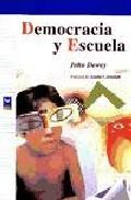 Libro DEMOCRACIA Y ESCUELA