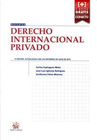Libro DERECHO INTERNACIONAL PRIVADO 9ª EDICIÓN