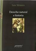 Libro DERECHO NATURAL E HISTORIA
