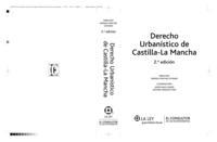 Libro DERECHO URBANISTICO DE CASTILLA LA MANCHA