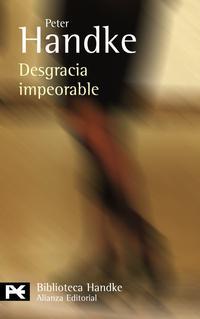 Libro DESGRACIA IMPEORABLE