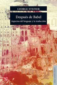 Libro DESPUES DE BABEL