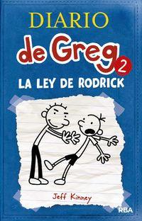 Libro DIARIO DE GREG 2 : LA LEY DE RODRICK