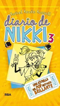 Libro DIARIO DE NIKKI 3: UNA ESTRELLA DEL POP MUY POCO BRILLANTE
