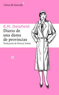 Libro DIARIO DE UNA DAMA DE PROVINCIAS