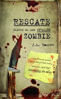 Libro DIARIO DE UNA INVASION ZOMBIE  Nº 3 RESCATE