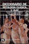 Libro DICCIONARIO DE MITOLOGIA CLASICA