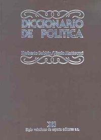 Libro DICCIONARIO DE POLITICA