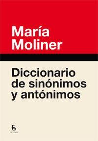 Libro DICCIONARIO DE SINONIMOS Y ANTONIMOS