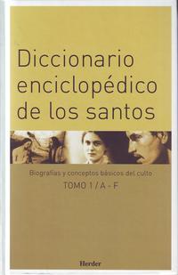 Libro DICCIONARIO ENCICLOPEDICO DE LOS SANTOS