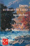 Libro DIWAN DE SHAMS DE TABRIZ