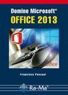 Libro DOMINE MICROSOFT OFFICE 2013
