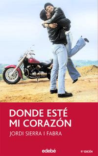 Libro DONDE ESTE MI CORAZON