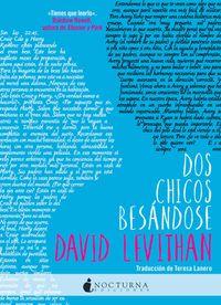 Libro DOS CHICOS BESANDOSE