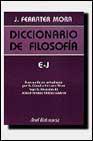 Libro E-J: DICCIONARIO DE FILOSOFIA