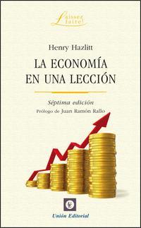 Libro ECONOMIA EN UNA LECCION
