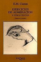 Libro EJERCICIOS DE ADMIRACION Y OTROS TEXTOS