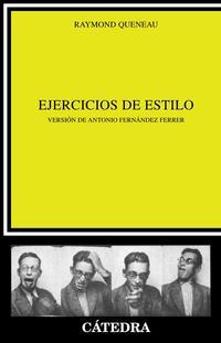 Libro EJERCICIOS DE ESTILO