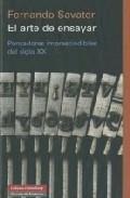 Libro EL ARTE DE ENSAYAR: PENSADORES IMPRESCINDIBLES DEL SIGLO XX