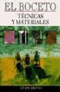 Libro EL BOCETO: TECNICAS Y MATERIALES