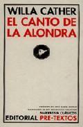 Libro EL CANTO DE LA ALONDRA