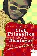 Libro EL CLUB FILOSOFICO DE LOS DOMINGOS