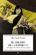 Libro EL COLAPSO DE LA REPUBLICA
