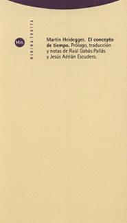 Libro EL CONCEPTO DEL TIEMPO