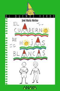 Libro EL CUADERNO DE HOJAS BLANCAS