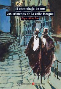 Libro EL ESCARABAJO DE ORO; LOS CRIMENES DE LA CALLE MORGUE