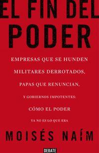 Libro EL FIN DEL PODER