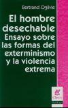 Libro EL HOMBRE DESECHABLE