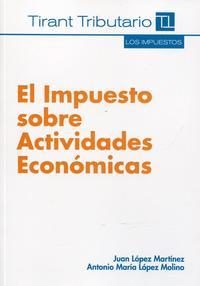 Libro EL IMPUESTO SOBRE ACTIVIDADES ECONOMICAS
