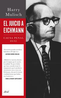 Libro EL JUICIO A EICHMANN
