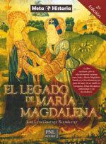 Libro EL LEGADO DE MARIA MAGDALENA