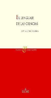 Libro EL LENGUAJE DE LAS CIENCIAS