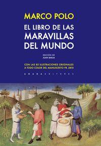 Libro EL LIBRO DE LAS MARAVILLAS DEL MUNDO